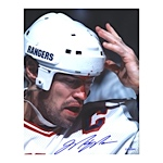 Mark Messier Autographed Blood 8x10 Photo